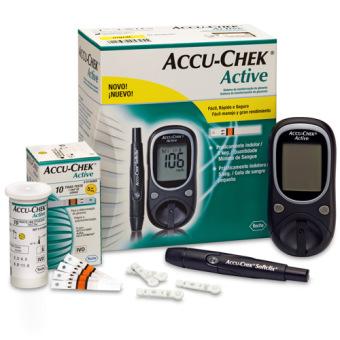 Máy đo đường huyết Accu Chek Active New