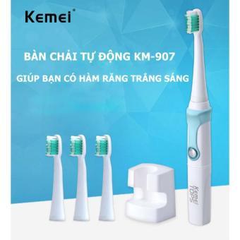 Bàn chải đánh răng tự động Kemei KM-907