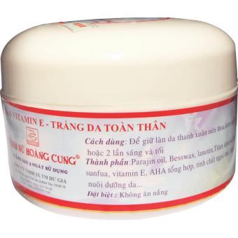 Kem Dưỡng Trắng Da Toàn Thân - Vitamin E Trinh Nữ Hoàng Cung - 300g - Tnhc1013t79
