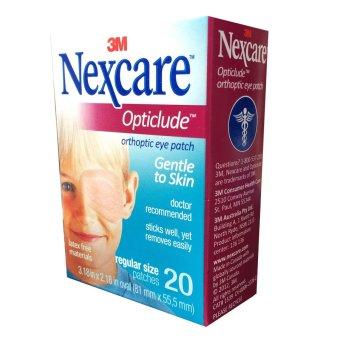 Mua Hộp 20 miếng băng dán mắt 3M Nexcare Opticlude Orthoptic Eye Patch Regular Size giá tốt nhất