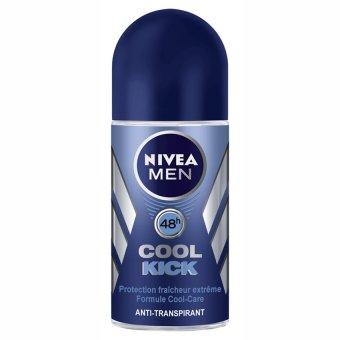 Lăn ngăn mùi NIVEA Men Cool Kick 50ml