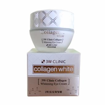 Kem Dưỡng Da Vùng Mắt 3w Clinic Collagen Whitening Eye Cream 35ml