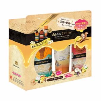Bộ Quà Tặng Dầu Gội Dầu Xả Dưỡng Chất Ahalo Butter Rich Moist Ahalo Butter- Nhật Bản