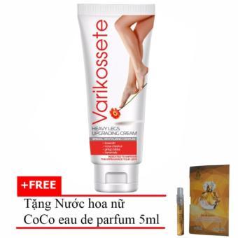 Kem Varikosette Điều Trị Giãn Tĩnh Mạch 75ml + Tặng Nước Hoa Nữ Coco Eau De Parfum 5ml