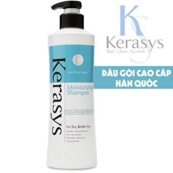 Dầu gội cân bằng độ ẩm cho tóc khô xơ Kerasys Moisturizing cao cấp Hàn Quốc 600ml