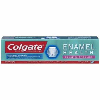 Kem đánh răng bảo vệ men răng dành cho răng nhạy cảm Colgate Enamel Health Sensitivity Relief Toothpaste 155g (Mỹ)