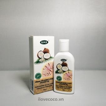 Kem dưỡng da tay chân tinh dầu dừa thiên nhiên
