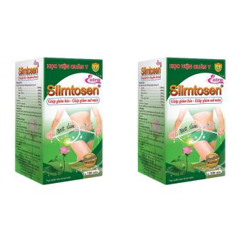 Bộ 2 hộp Viên uống giảm cân Slimtosen Extra Học Viện Quân Y