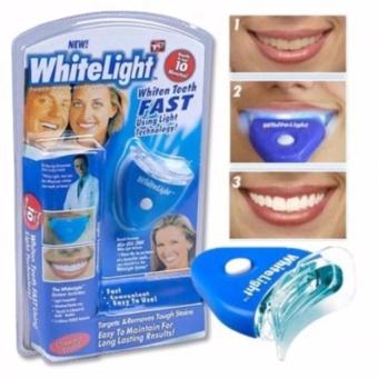 Dụng cụ làm trắng răng WhiteLight- hàng tốt nhất