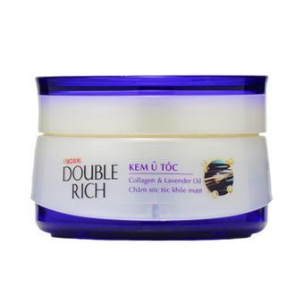 Double Rich Kem ủ Collagen & Tinh dầu Lavender – Chăm sóc tóc khỏe mượt 150g