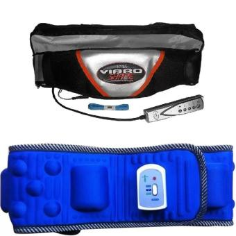 Bộ 1 Đai massage nóng & rung Vibro Shape và 1 Đai mát-xa bụng Vibroaction x5