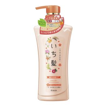 Dầu gội Ichikami dưỡng ẩm jumbo 480 ml