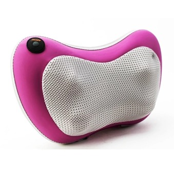 Gối massage hồng ngoại Massager Pillow FL-819 (Trắng phối Tím)