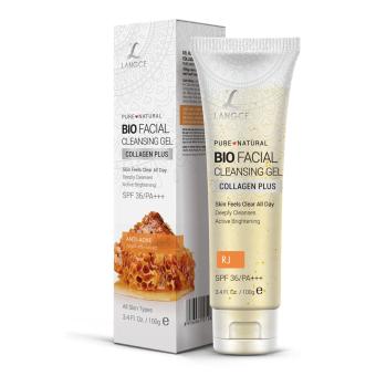 Gel Rửa Mặt Sinh Học Collagen+ Chống Nắng Đẹp Da Sữa Ong Chúa 100g