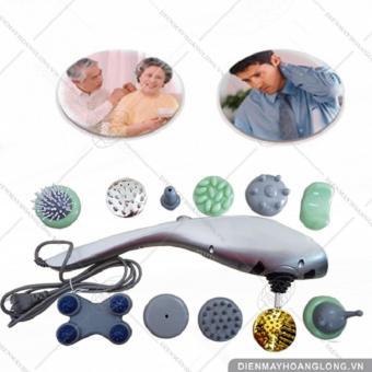 Máy massage cầm tay 11 đầu xoa bóp toàn thân công nghệ nhật bản