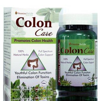 Giải độc đường ruột thanh lọc hệ tiêu hóa Colon Care 60 viên