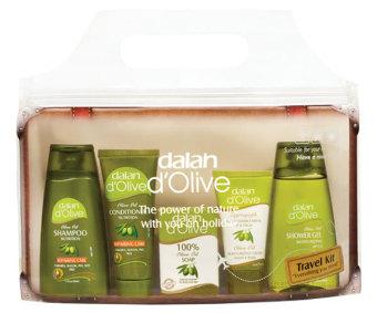 Bộ Kit du lịch chăm sóc cơ thể toàn diện từ tinh dầu ô liu Dalan d'olive Travel Kit (Hàng Chính Hãng)