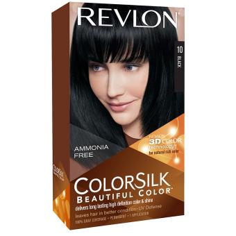 Thuốc nhuộm tóc REVLON COLORSILK - 10 BLACK