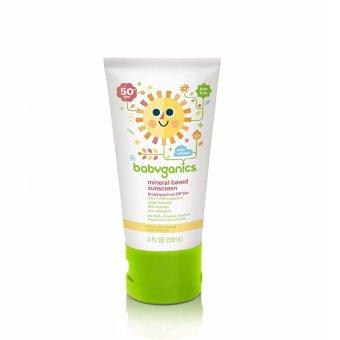 Kem chống nắng cho trẻ em Babyganics Mineral-Based Baby Sunscreen Lotion SPF 50 59ml (Mỹ)