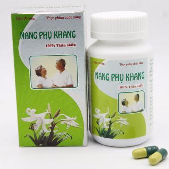 Viên uống hỗ trợ điều trị u xơ tử cung Nang Phụ Khang