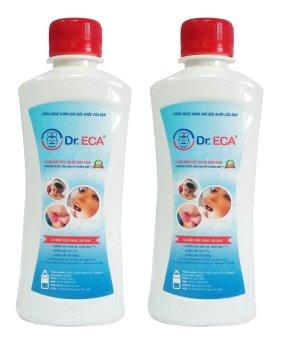 Bộ 2 chai dung dịch khử trùng Dr.ECA 250ml