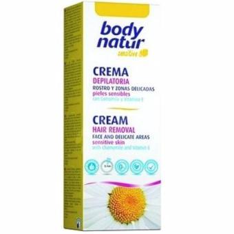 Kem tẩy lông Body Natur dành cho vùng mặt,bikini và nách chiết xuất cúc la mã và vitamin E 50ml