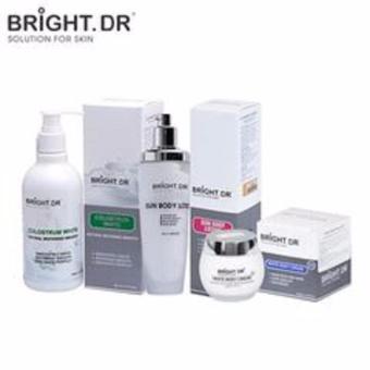 Bộ sản phẩm tắm trắng và dưỡng da body hàng ngày Bright doctor