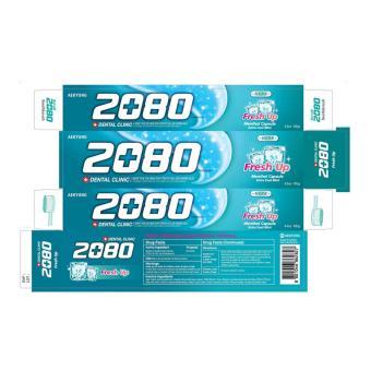 Kem đánh răng ngừa sâu răng và hôi miệng 2080 Fresh Up Hàn Quốc 120g