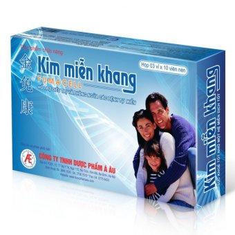 Thực phẩm chức năng Kim Miễn Khang 30 viên-hỗ trợ điều trị vẩy nến và lupus ban đỏ hệ thống