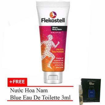 Kem Flekosteel Điều Trị Viêm Xương Khớp Và Thoát Vị Đĩa Đệm 50ml + Tặng Nước Hoa Nam Blue Eau De Parfum 3ml