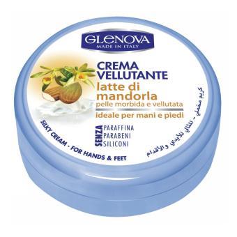 Kem dưỡng da tay chân Sữa Hạnh Nhân GLENOVA 120ml