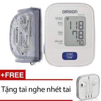 Máy đo huyết áp bắp tay Omron HEM-7120 + Bộ kiềm 7 món
