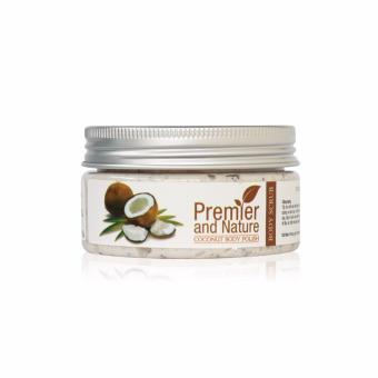 Tẩy da chết toàn thân chiết xuất từ dừa The Beauty Shop - Coconut body polish 100g