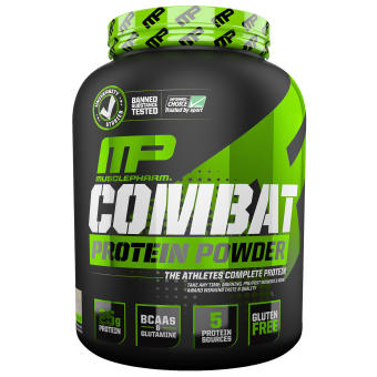 Bột Protein Muscle Pharm Combat vị Cookies 1.8kg