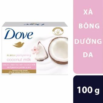 Xà bông dưỡng da Dove hương dừa 100G