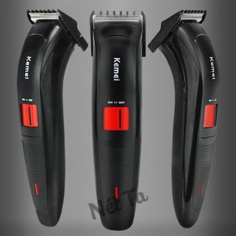 Tông đơ cắt tóc Kemei KM-3118 (Màu đen)
