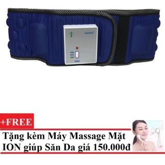 Đai Mát Xa Giảm Béo Bụng X5 + Tặng Máy massage mặt Y1200 HÀNG NHẬP KHẨU
