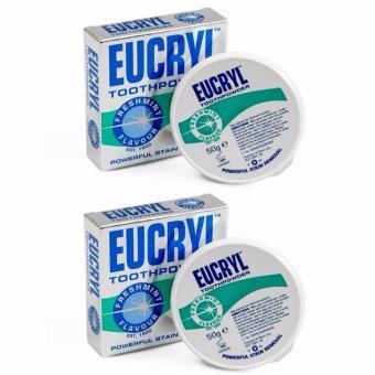 Bộ 2 bột Làm Trắng Răng Eucryl Tooth Powder 50g x 2