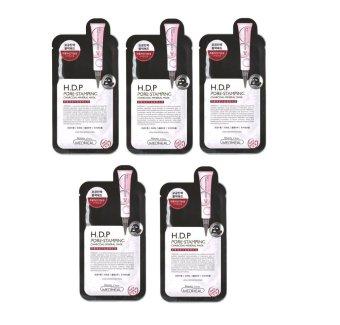 Bộ 5 gói Mặt Nạ Than Hoạt Tính cao cấp Mediheal H.D.P Pore-Stamping Charcoal-Mineral Mask 25ml x5