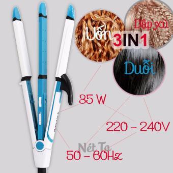 Máy làm tóc đa năng 3 trong 1 Nét Ta SH-8005 (Màu xanh phối trắng)