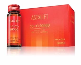 Bộ 10 chai nước uống collagen Astalift Collagen Drink 10000 10 x 30ml