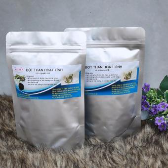 Bộ 2 gói bột than hoạt tính 100% tự nhiên KOXUKA dành cho mỹ phẩm (300gr)