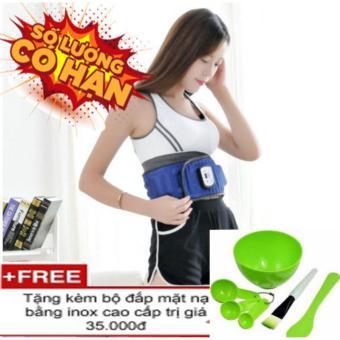 Đai masage đặc trị vùng bụng X5 thông minh-tặng bộ dụng cụ đắp mặt cao cấp