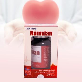 Mua Tâm thống Namvian giúp tăng cường lưu thông máu giá tốt nhất