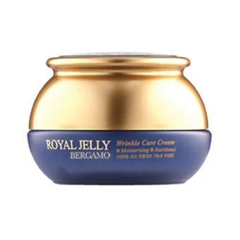 Kem dưỡng làm trắng da và chống nhăn từ Sữa Ông Chúa Bergamo Coenzyme Royal Wrinkle Care Cream 50gr.