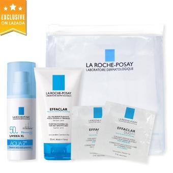 Bộ chống nắng cho da dầu, da mụn nhạy cảm La Roche-Posay Uvidea Kit