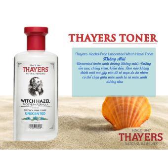 Nước Hoa Hồng Không Chứa Cồn Thayers Alcohol Free Witch Hazel Toner Unscented phù hợp với mọi loại da 355ml