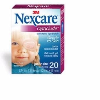 Hộp 20 miếng băng dán mắt 20 miếng dùng cho trẻ nhỏ (Cỡ bé)