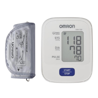 Máy đo huyết áp Omron Hem 7120 (Trắng)