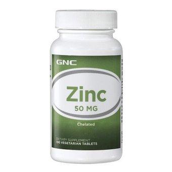 Viên uống bổ sung kẽm GNC INTL GNC ZINC 50 MG 100 viên